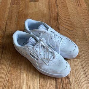Reebok White Iridescent Shoes